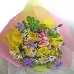 イエローサルタンの花束