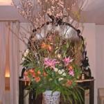 アルストロメリアと桜