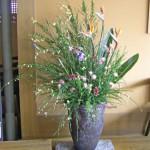 花エニシダと菖蒲