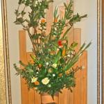 白花菖蒲のアレンジ