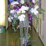 デルフィニウムのスタンド花