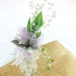 プリザーブドのすずらんの花束