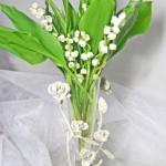 鈴蘭と花器セット