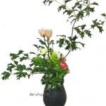 ヒイラギと菜の花
