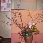 椿と吉野桜