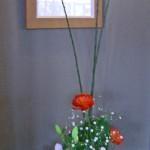 ラナンキュラスと菜の花のアレンジ