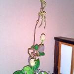 アオモジと菜の花