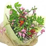 ケマンソウの花束