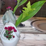 クルクマとスプレー菊