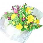 ガーベラとシャロンの花束