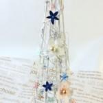 コットンツリーのクリスマスツリー