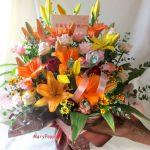 御誕生日御祝いのアレンジ