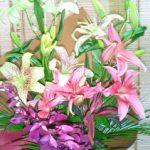 スカシユリの花束