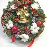 フレッシュモミのクリスマスリース