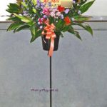 ストレリチアのスタンド装花