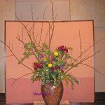 コデマリと木香バラ