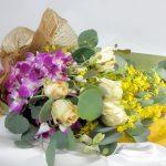丸葉ユーカリの花束