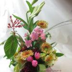 匂い桜のアレンジメント
