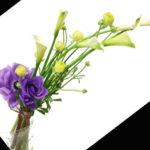 カラーとラナンキュラスの花束