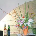 カンガルーポーとツルウメモドキのアレンンジ