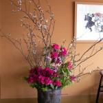 桜と石楠花