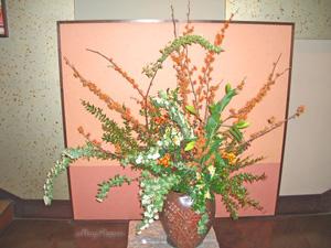 マンサクとコデマリのアレンジ