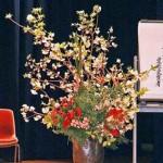 吉野桜の舞台装花