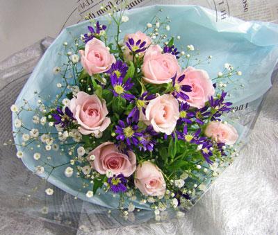都忘れと薔薇の花束