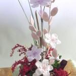 匂い桜のプリザーブドアレンジメント
