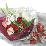 ご結婚記念の花束