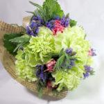 ラベンダーとレモンバームの花束